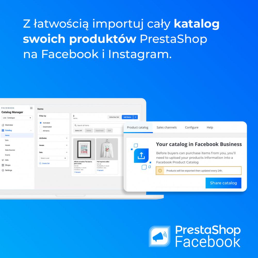 module - Produkty w serwisach społecznościowych - PrestaShop Facebook - 3