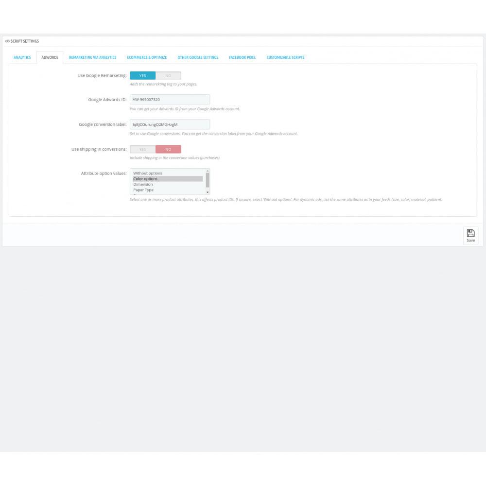 module - Analysen & Statistiken - Script Manager Pro (Customizable Scripts, APIs & GDPR) - 5
