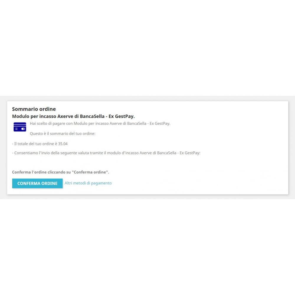 module - Pagamento con Carta di Credito o Wallet - Modulo per incasso Axerve Banca Sella - Ex GestPay - 3