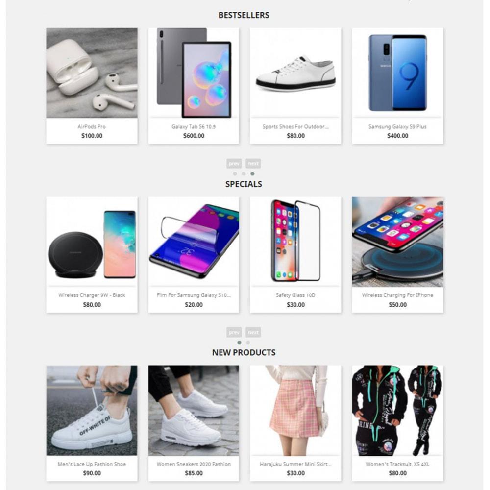 module - Slider & Gallerie - Carousels Pack - Instagram, Products, Brands, Supplier - 1