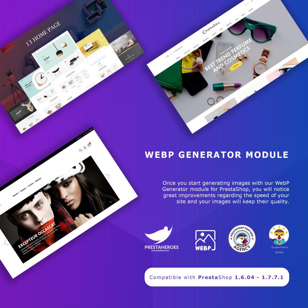 module - Website Performance - WebP image converter for Google Page Speed Optimization - 1