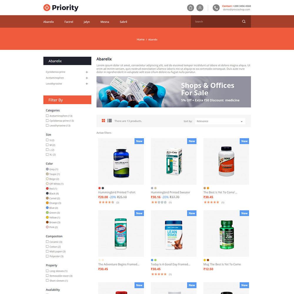 theme - Health & Beauty - Priority Medical Health - Medicine Store - 3