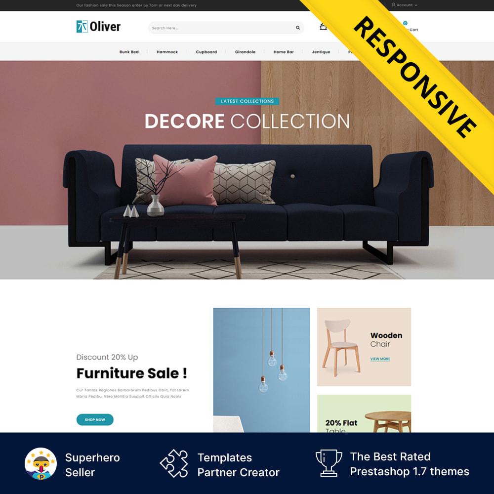 theme - Dom & Ogród - Oliver - Furniture Store - 1