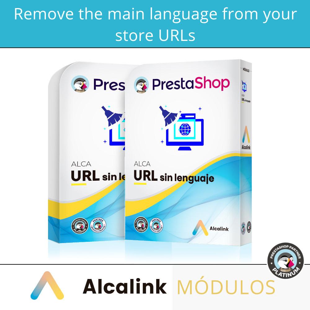 module - URL & Redirects - Remove main language URL - SEO - 1