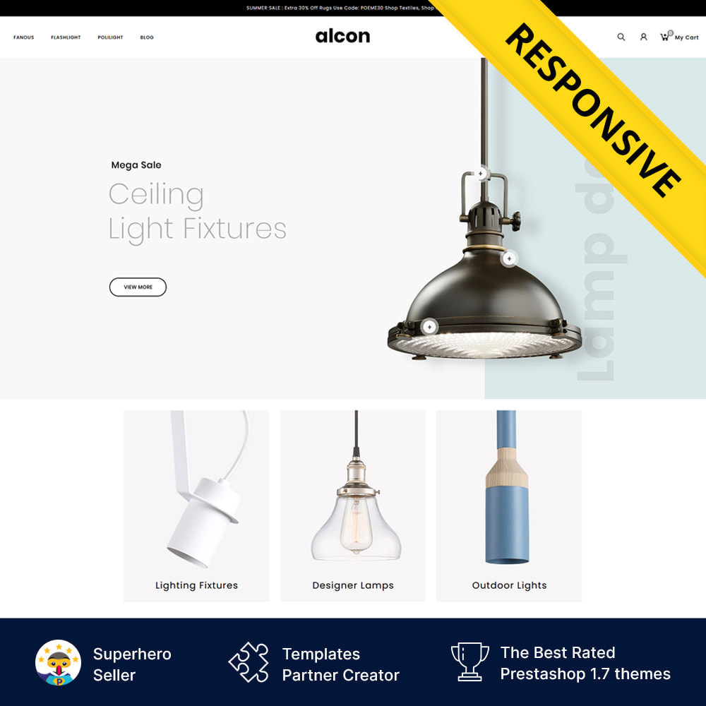 theme - Casa & Jardins - Alcon - Lighting Store - 1