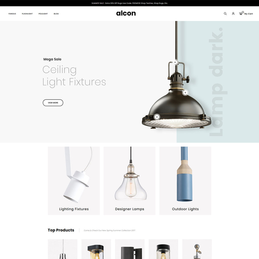 theme - Casa & Jardins - Alcon - Lighting Store - 2