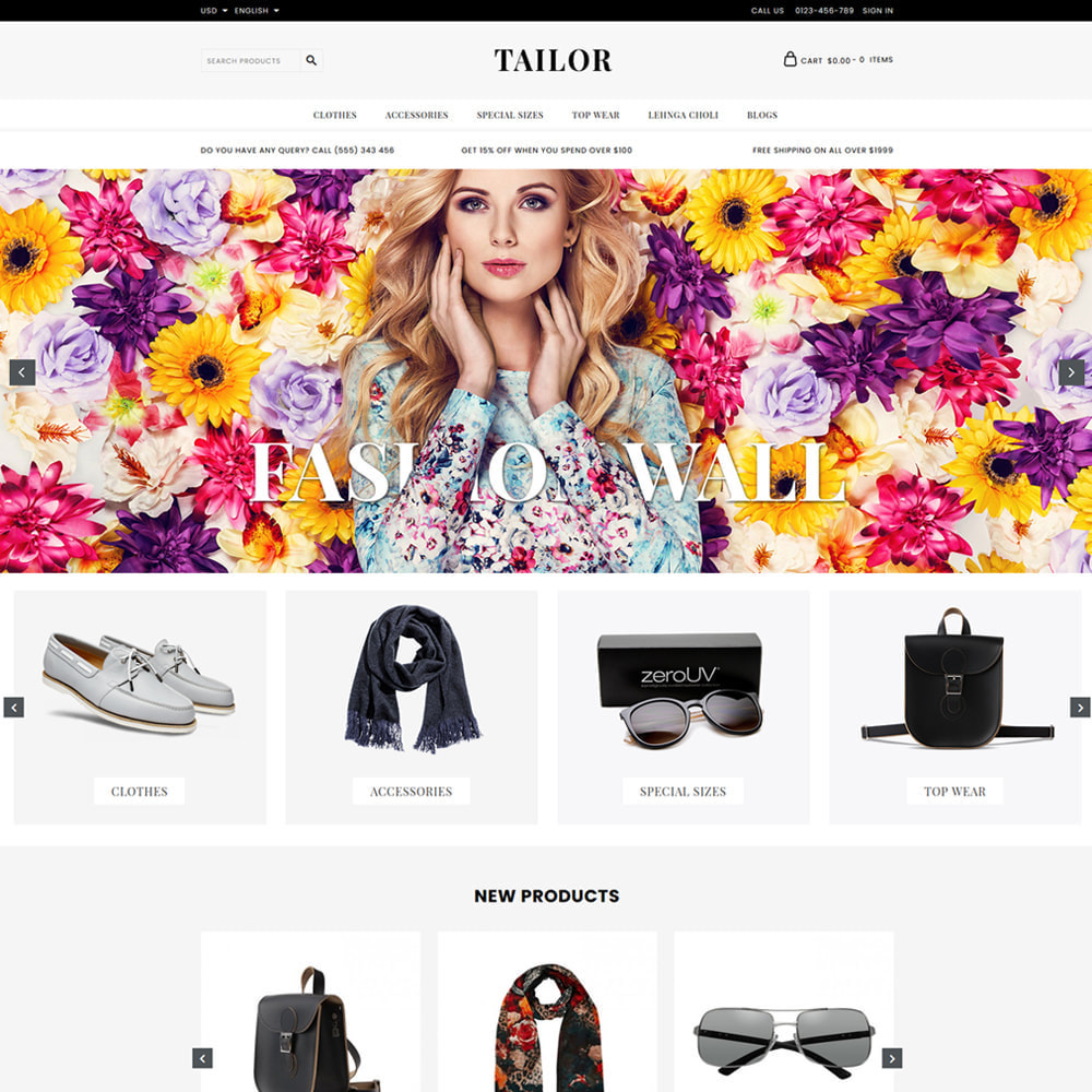 theme - Moda & Obuwie - Tailor Fashion Store - 2