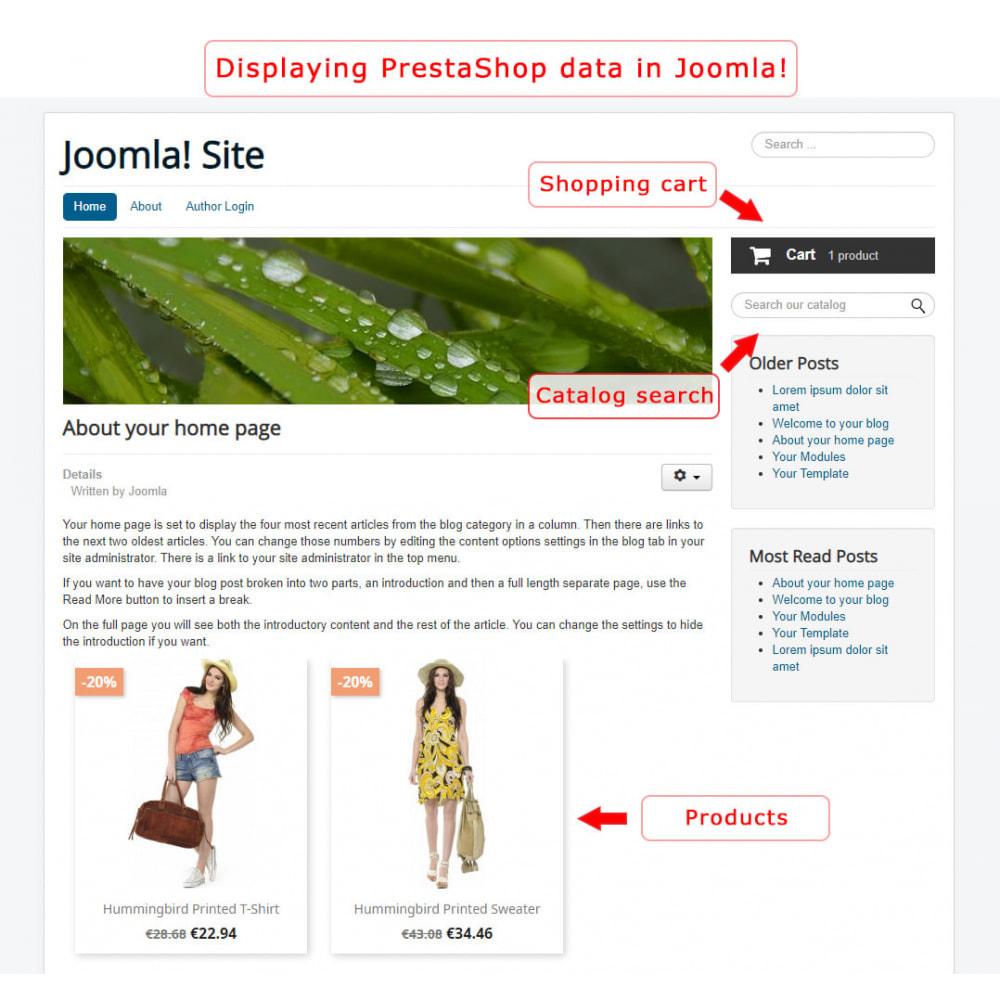 module - Marktplätze - PrestaShop-Joomla! two-way integration - 6