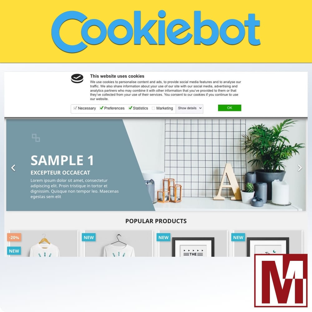 module - Marco Legal (Ley Europea) - Cookiebot - Monitoring and control of cookies - 1