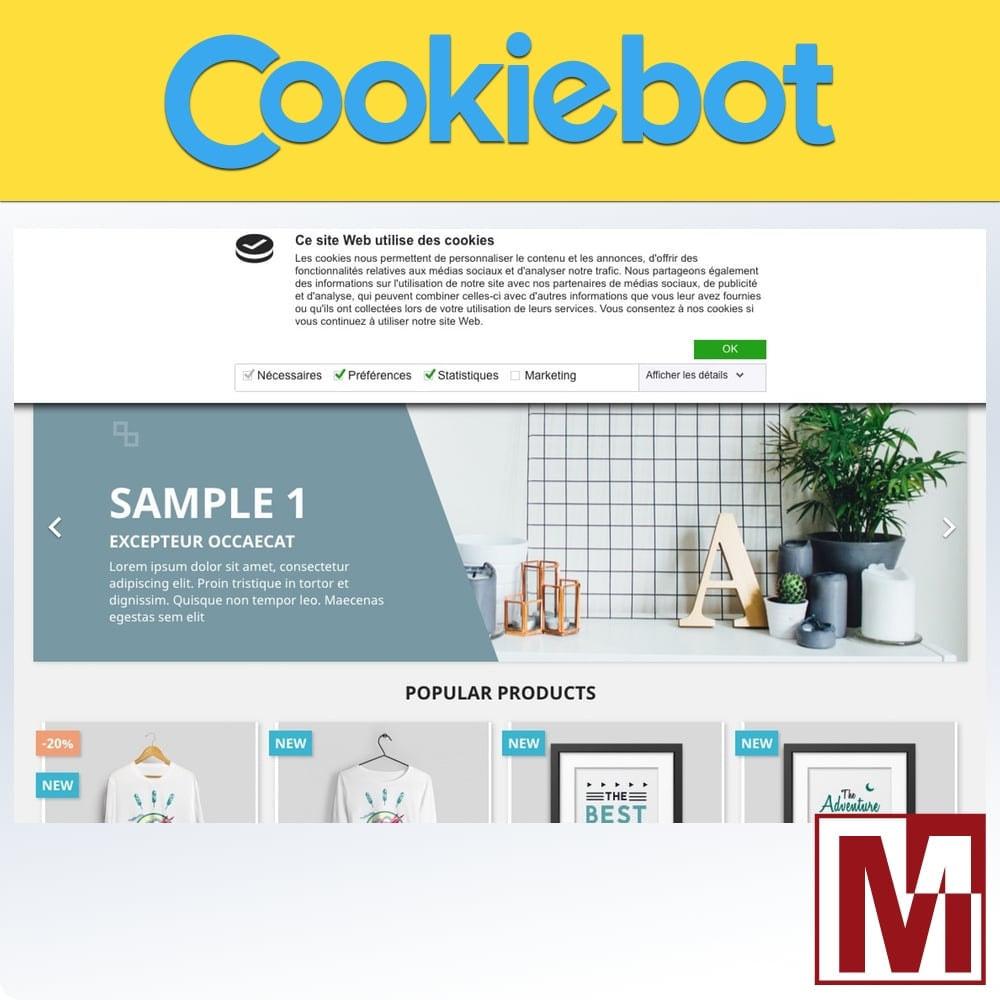 module - Législation - Cookiebot - Surveillance et contrôle des cookies - 1