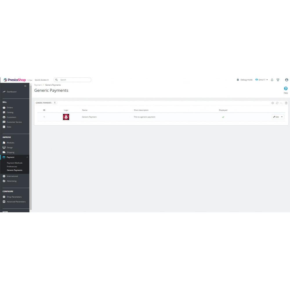 module - Andere betaalmethodes - Generic payment method - 3
