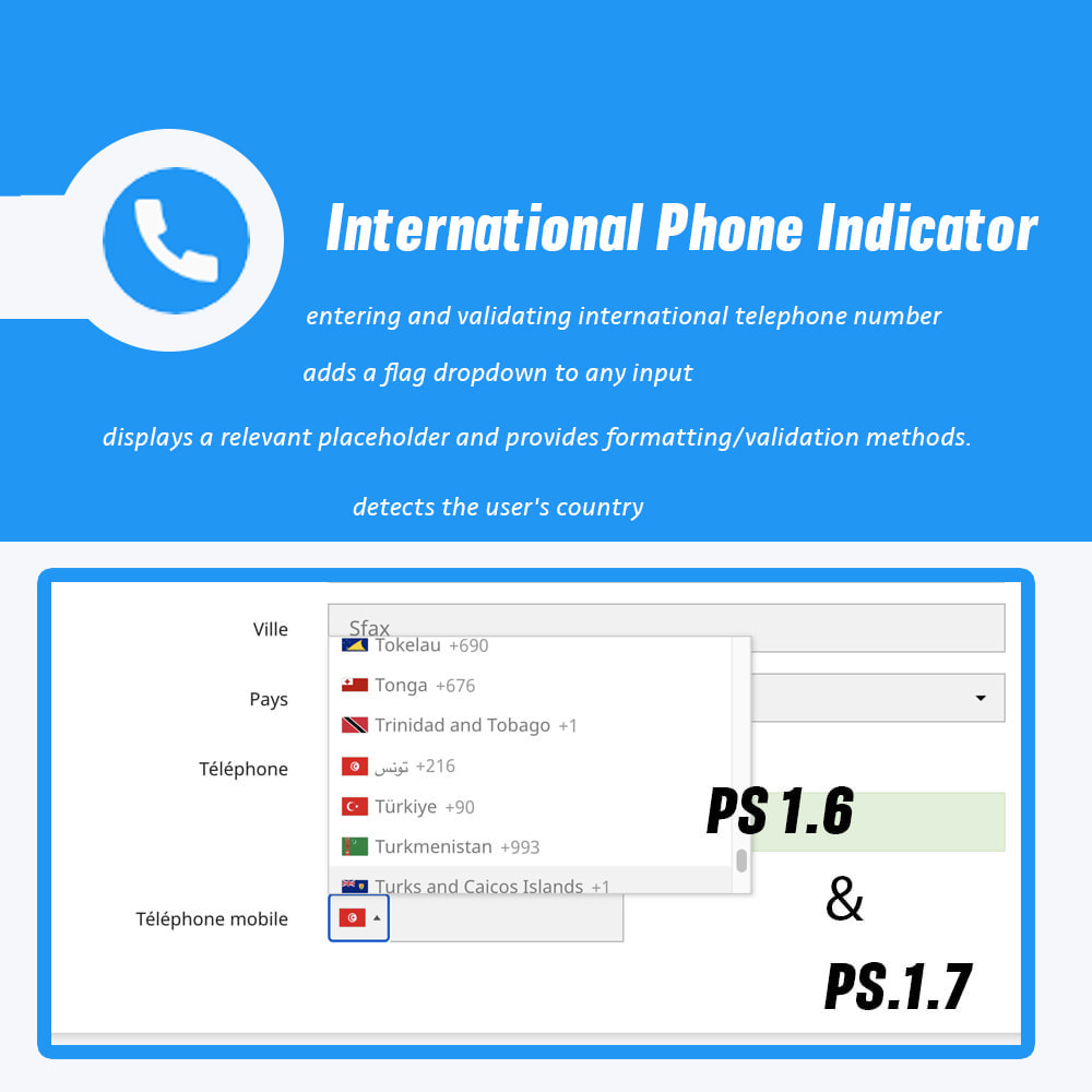 module - Dispositivos-móveis - International Phone Indicator - 1