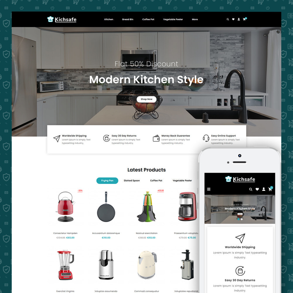 theme - Home & Garden - Online Kitchen Store - 1