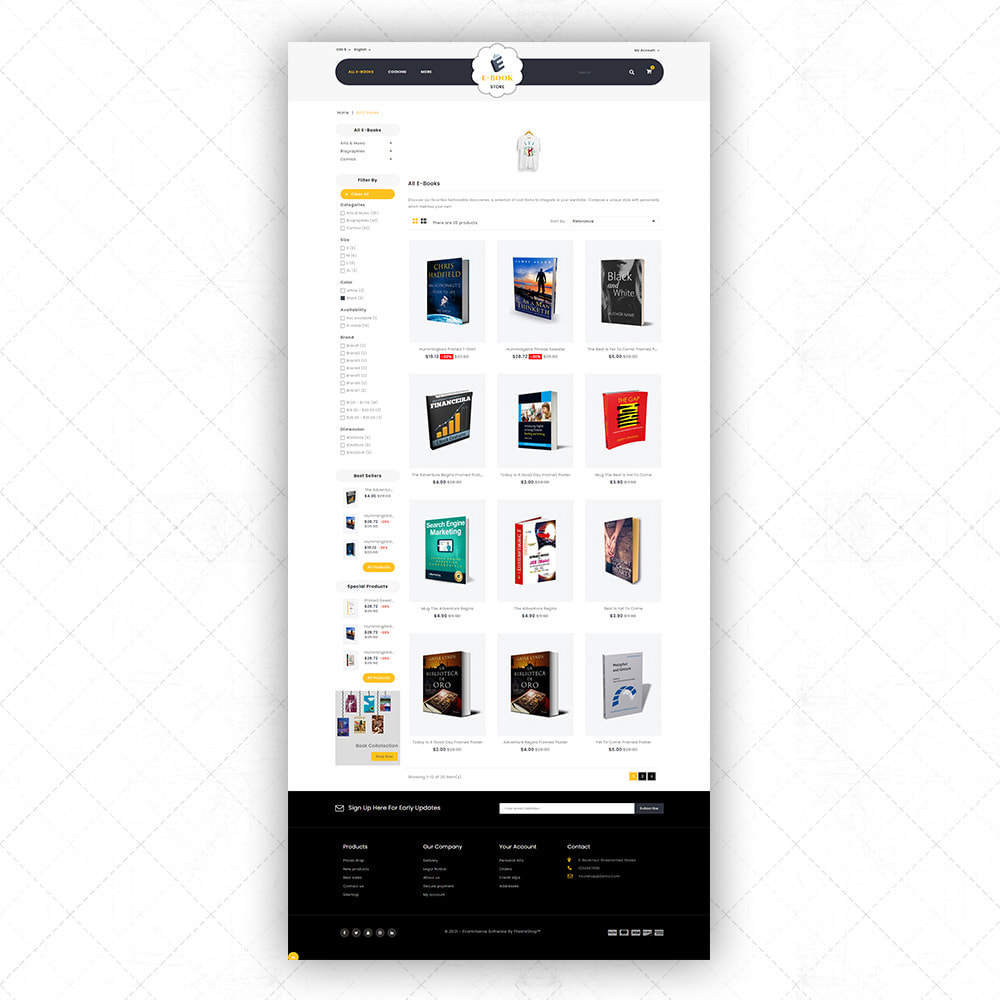 theme - Arte & Cultura - eBook store - 3
