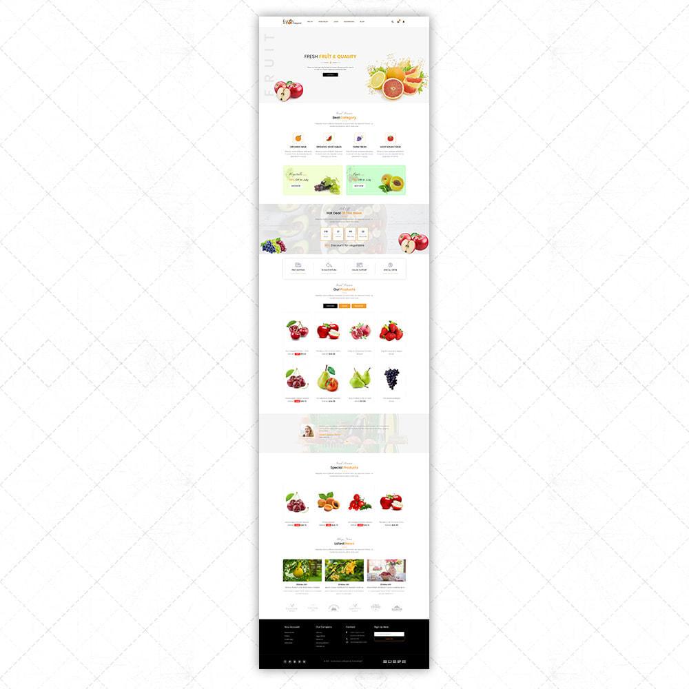 theme - Food & Restaurant - Organic Fresh - 2