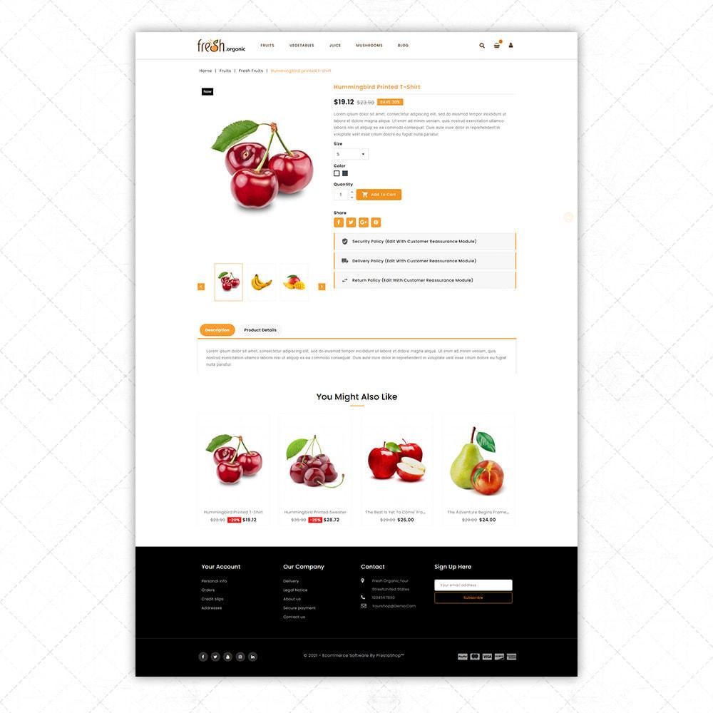 theme - Alimentos & Restaurantes - Organic Fresh - 5
