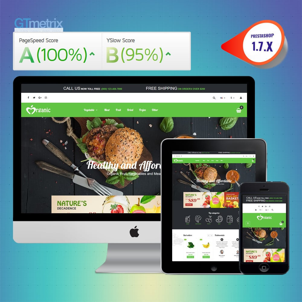 theme - Food & Restaurant - VP_Organic - Page Builder - 1