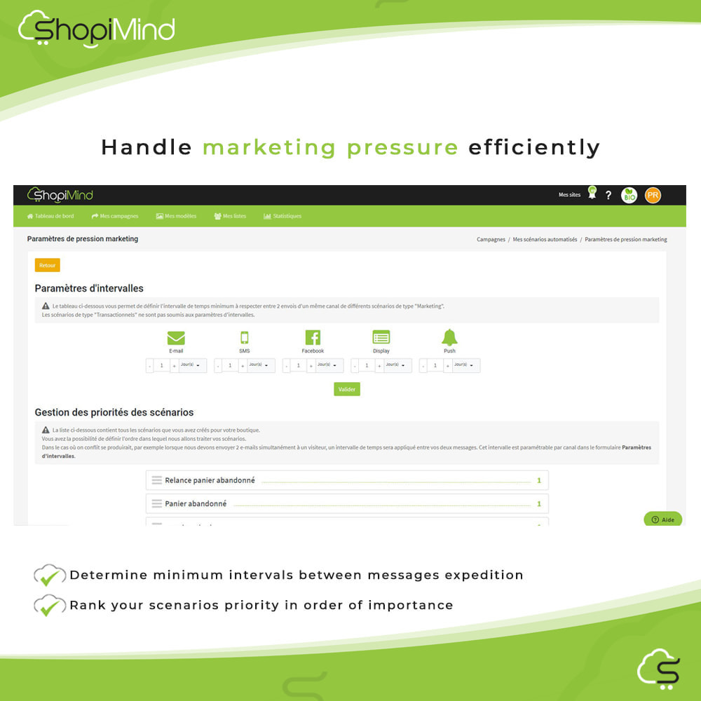 module - Remarketing & Warenkorbabbrüche - ShopiMind - Smart marketing multichanel - 7