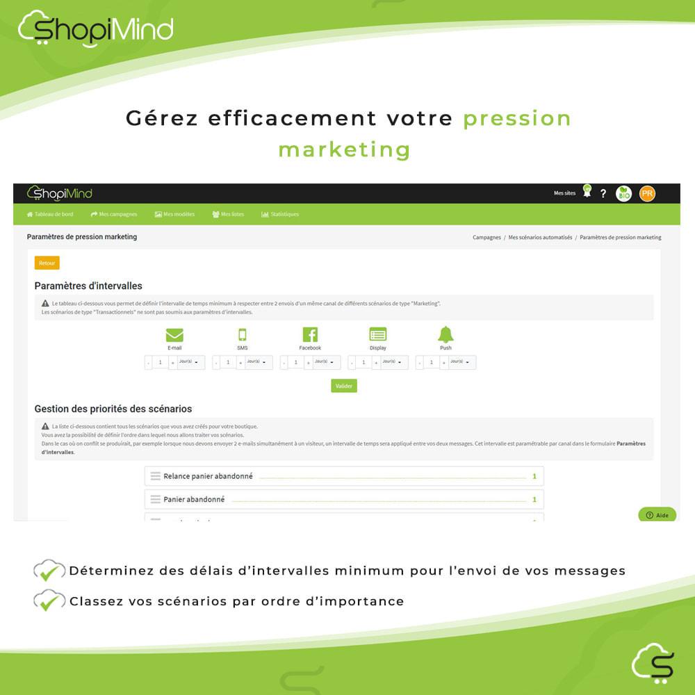 module - Remarketing & Paniers Abandonnés - ShopiMind - Marketing multicanal intelligent - 7