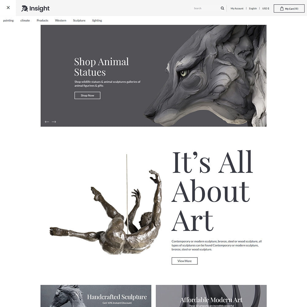 theme - Art & Culture - Art Guild  Handcraft - Painting Store - 2