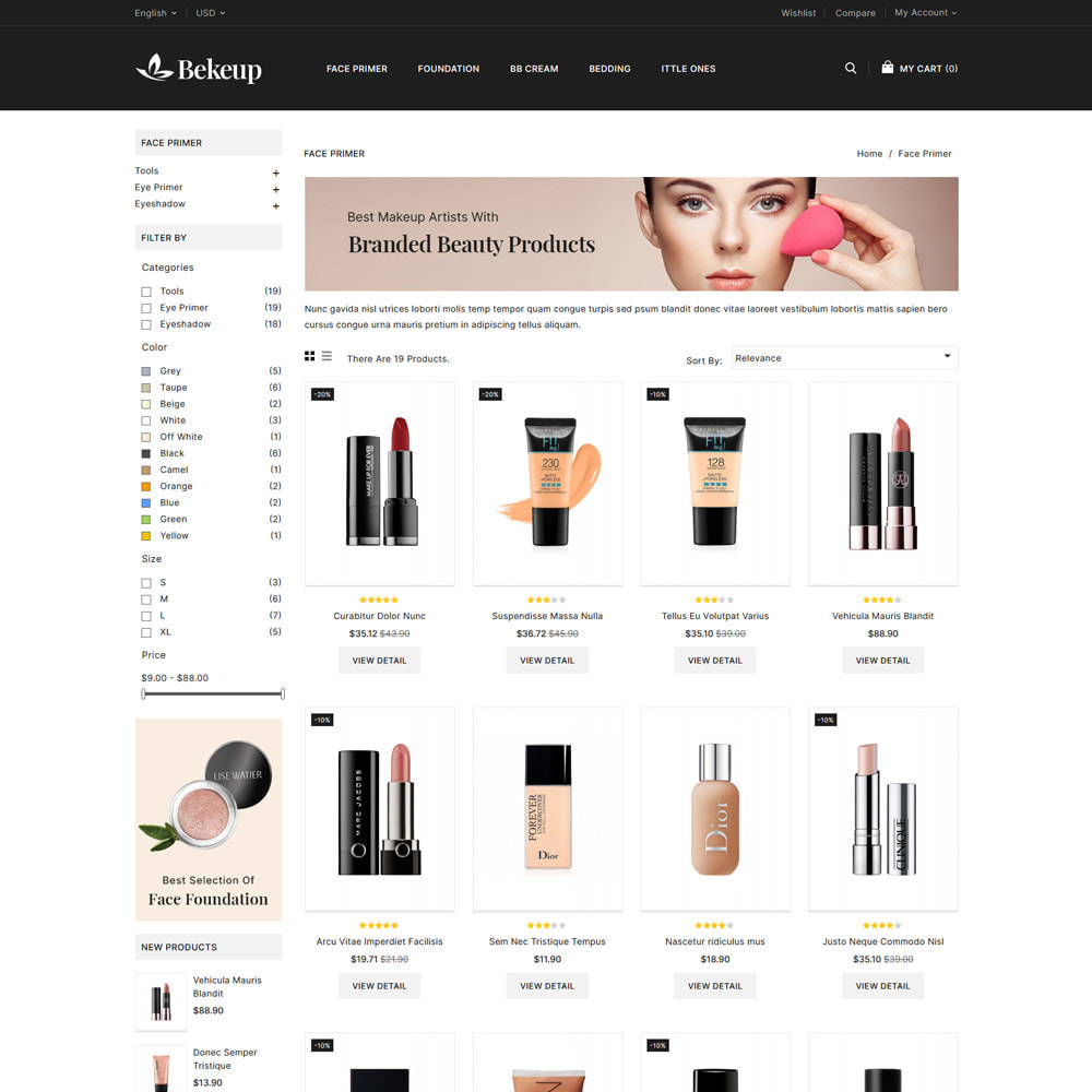 theme - Health & Beauty - Cosmetics Bekeup Store - 3