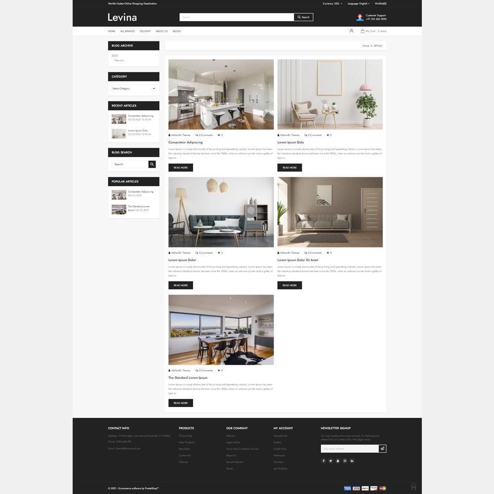theme - Home & Garden - Levina - Furniture Responsive Store - 5