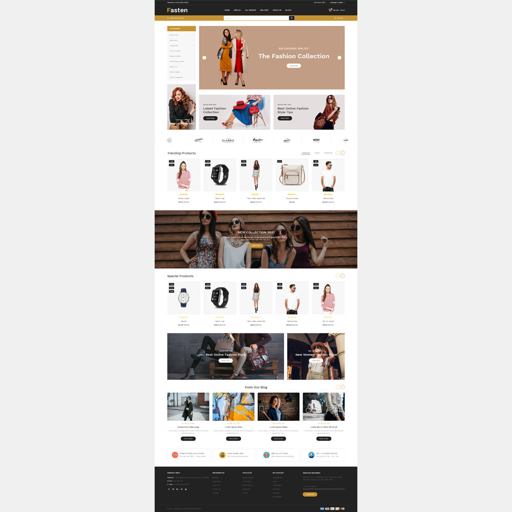 theme - Fashion & Shoes - Fasten - Fashion Responsive Store - 3