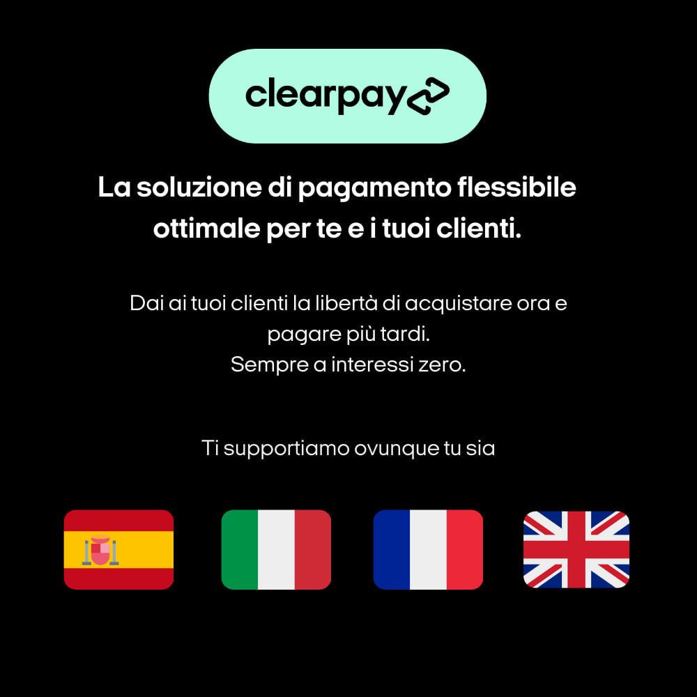 module - Pagamento - Clearpay - Acquista ora, paga più tardi, Sempre a interessi zero - 3