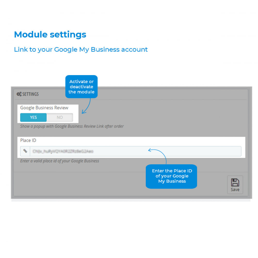 module - Recensioni clienti - Easy get Google My Business Reviews - 5