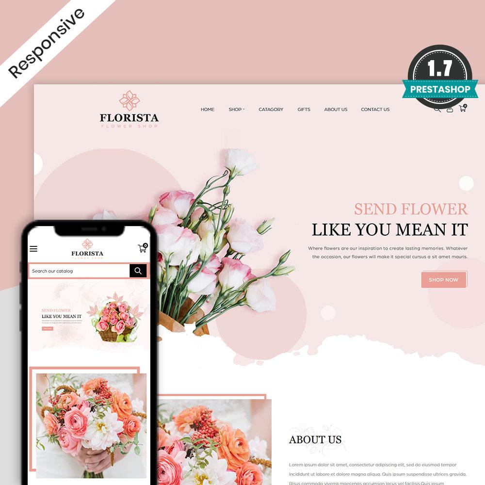 theme - Prezenty, Kwiaty & Uroczystości - Florista- Flower and Gift Store - 1