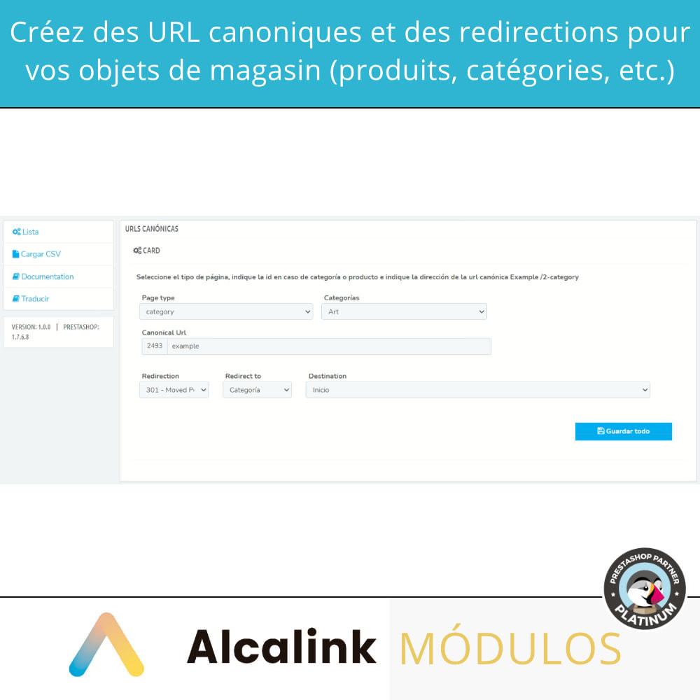 module - URL & Redirections - 2x1: SEO canonique + redirections SEO - 2