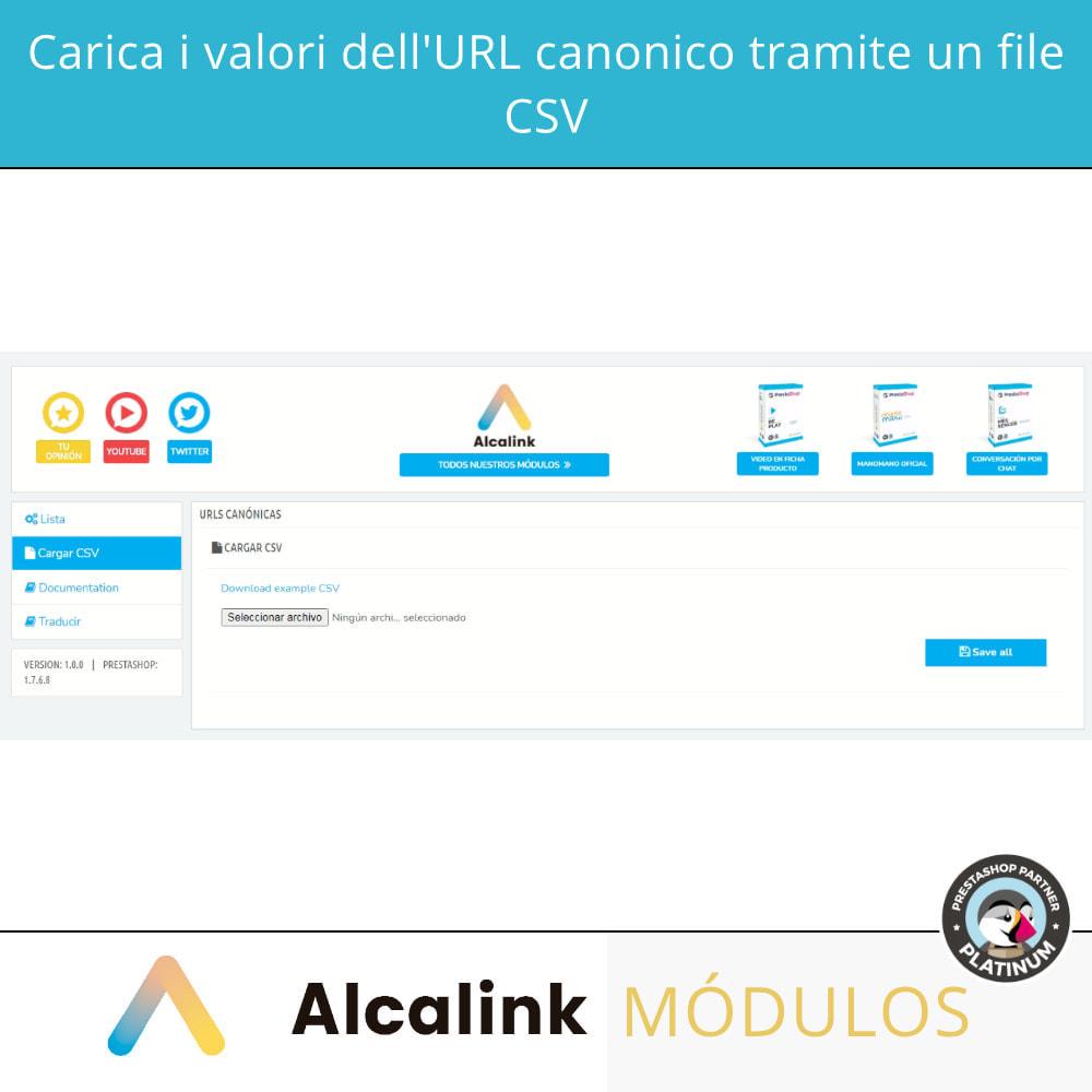 module - URL & Redirect - 2x1: URL canoniche SEO + reindirizzamenti SEO - 4