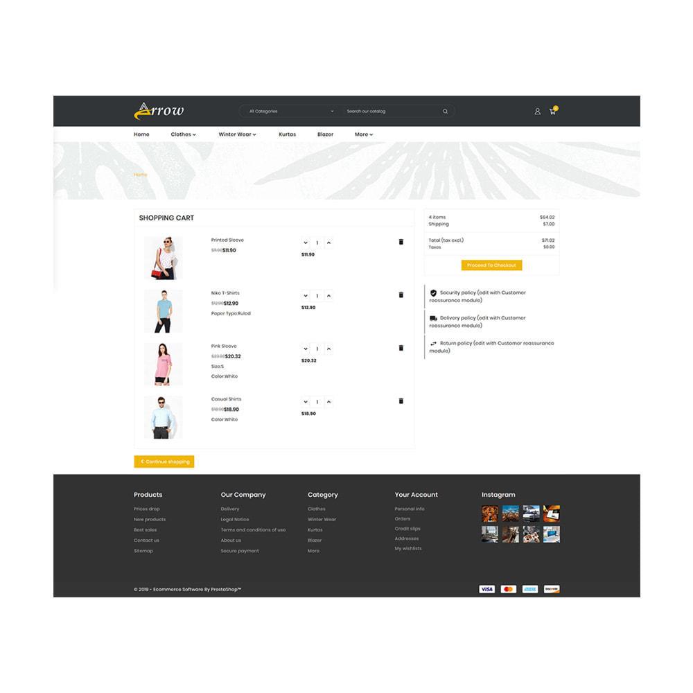 theme - Fashion & Shoes - Arrow–Fashion Store - 5