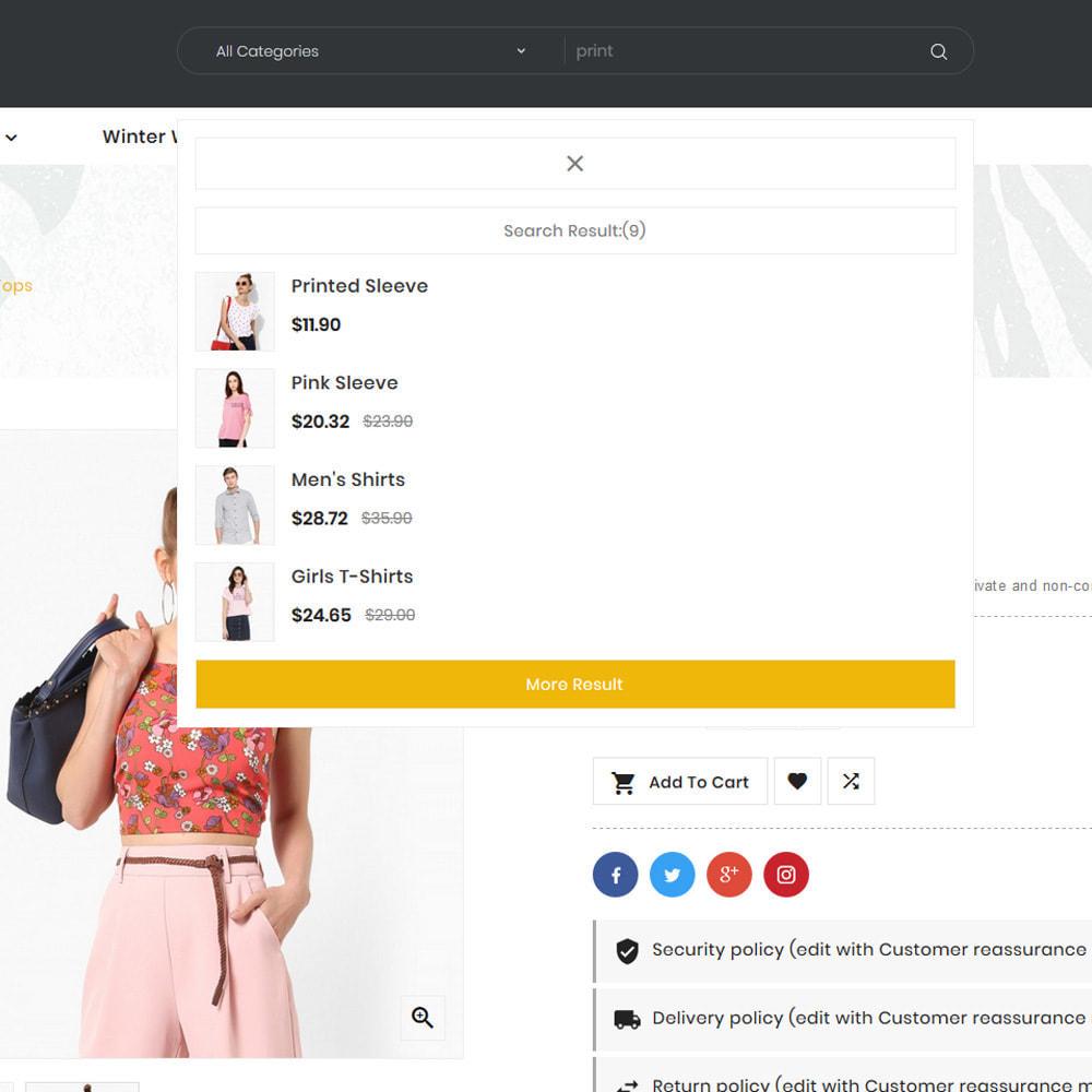 theme - Fashion & Shoes - Arrow–Fashion Store - 8