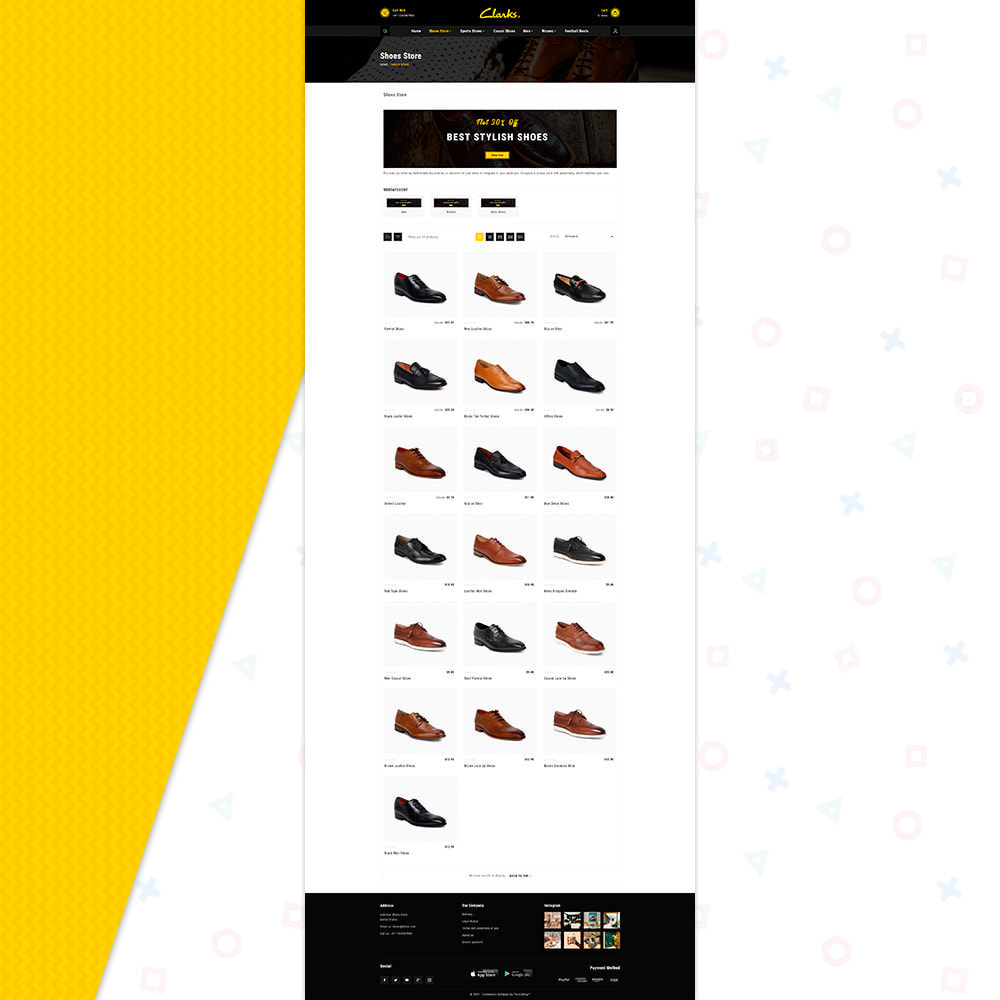 theme - Mode & Chaussures - Clarks–Shoes Big Mall - 3
