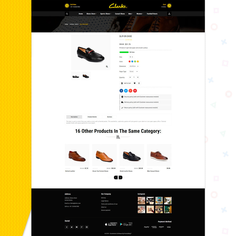 theme - Mode & Chaussures - Clarks–Shoes Big Mall - 4