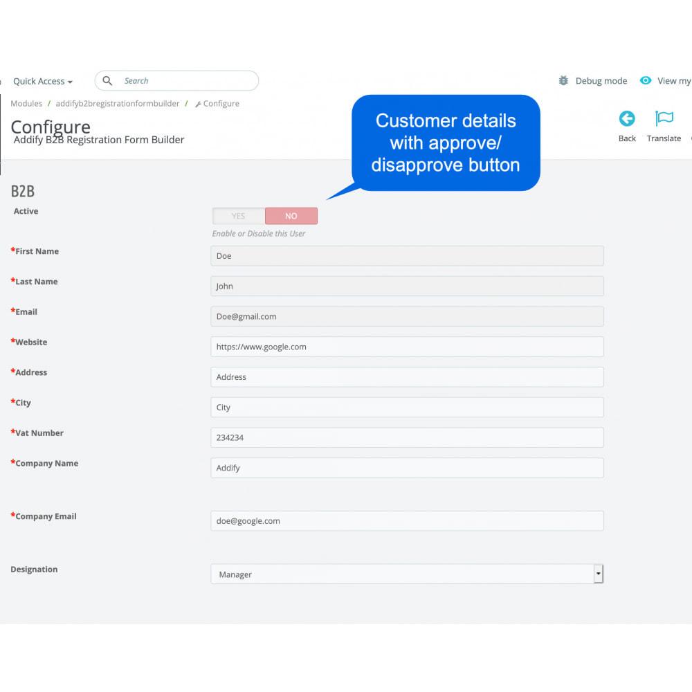 module - Registration & Ordering Process - B2B Custom Registration Forms Builder - 11