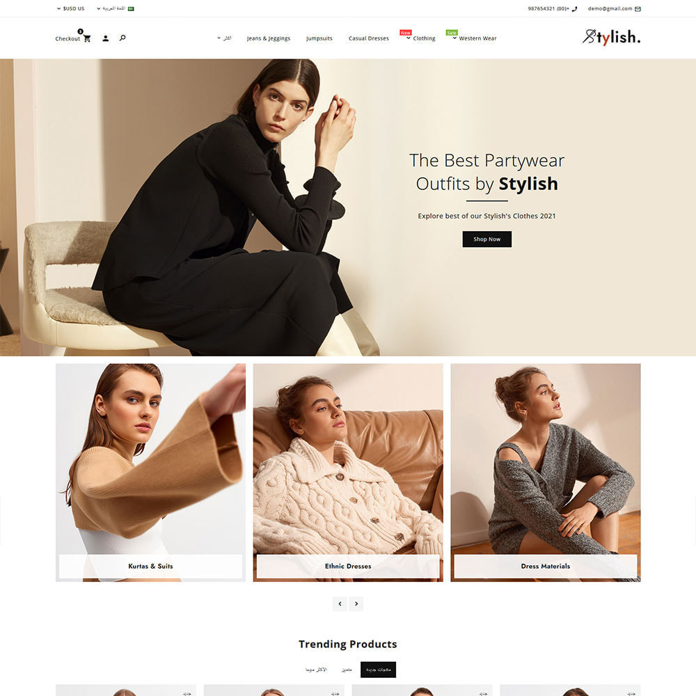 theme - Moda & Obuwie - Stylish - Fashion Clothes Super Store - 4