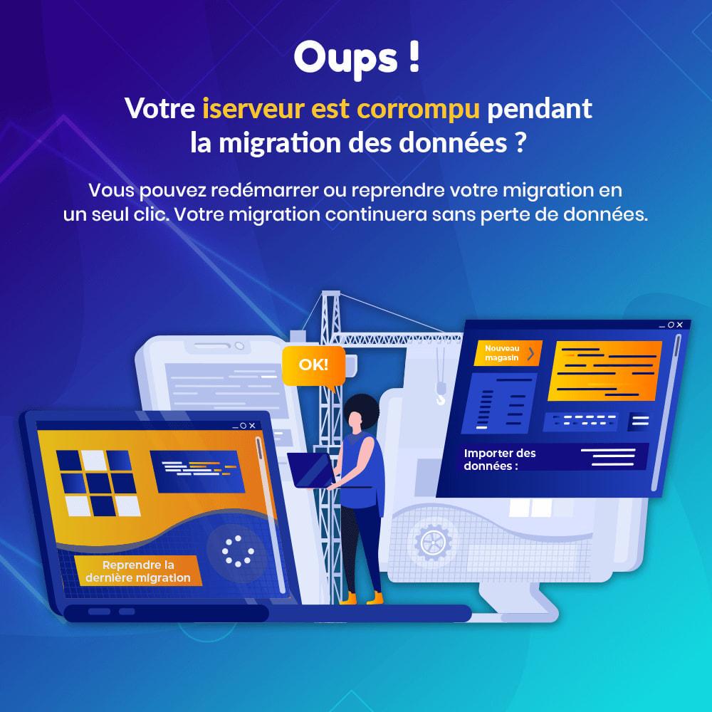 module - Migration de Données & Sauvegarde - MIGRATION 4.0 – Outil de mise à niveau et de migration - 8