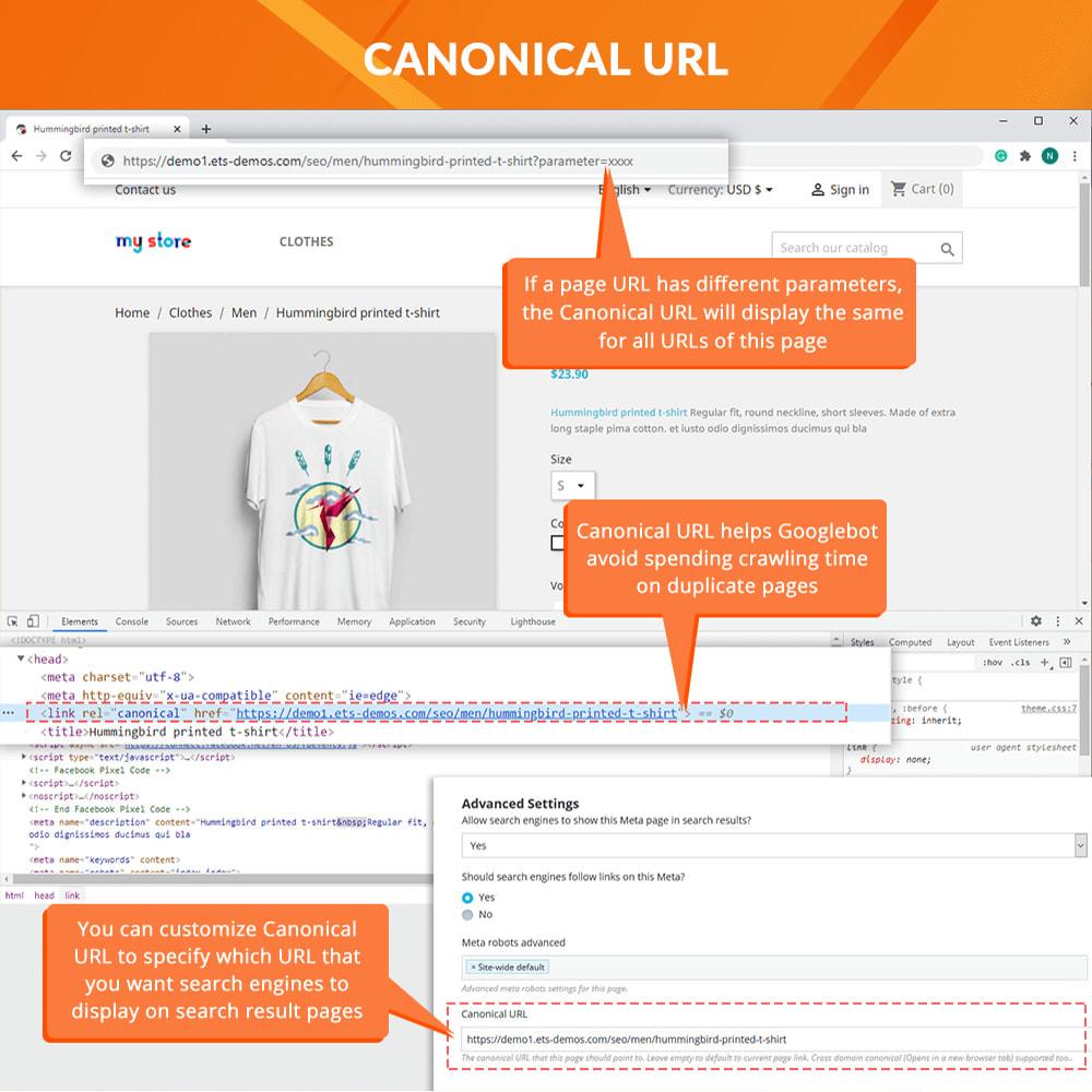 module - URL & Przekierowania - Awesome URL – Remove IDs (numbers) & ISO code in URL - 5
