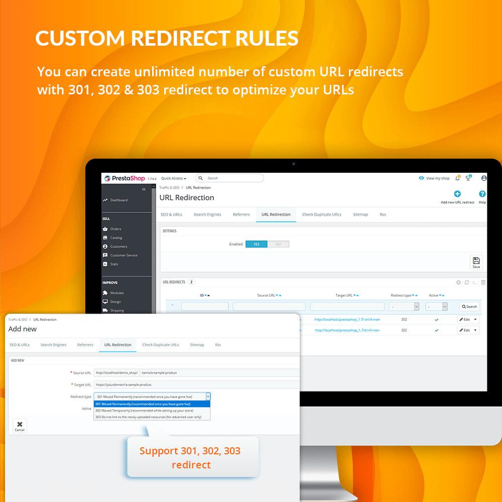 module - URL & Przekierowania - Awesome URL – Remove IDs (numbers) & ISO code in URL - 9