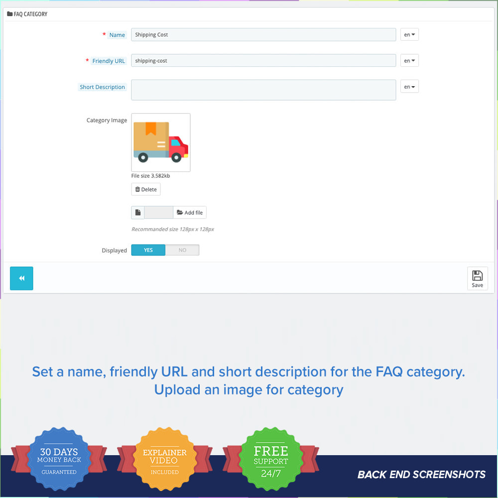 module - FAQ (Frequently Asked Questions) - FAQ - Complete pack for support - 11