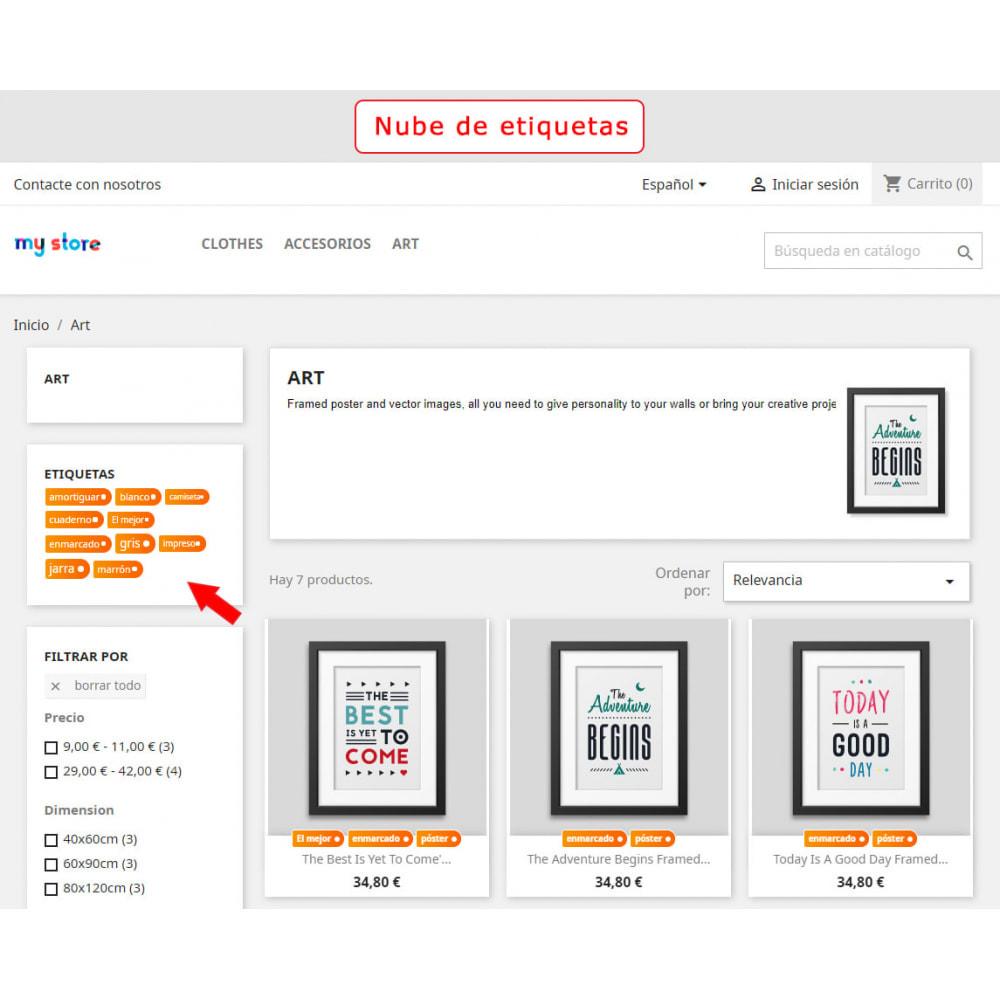 module - Etiquetas y Logos - Bloque mejorado de etiquetas - 6