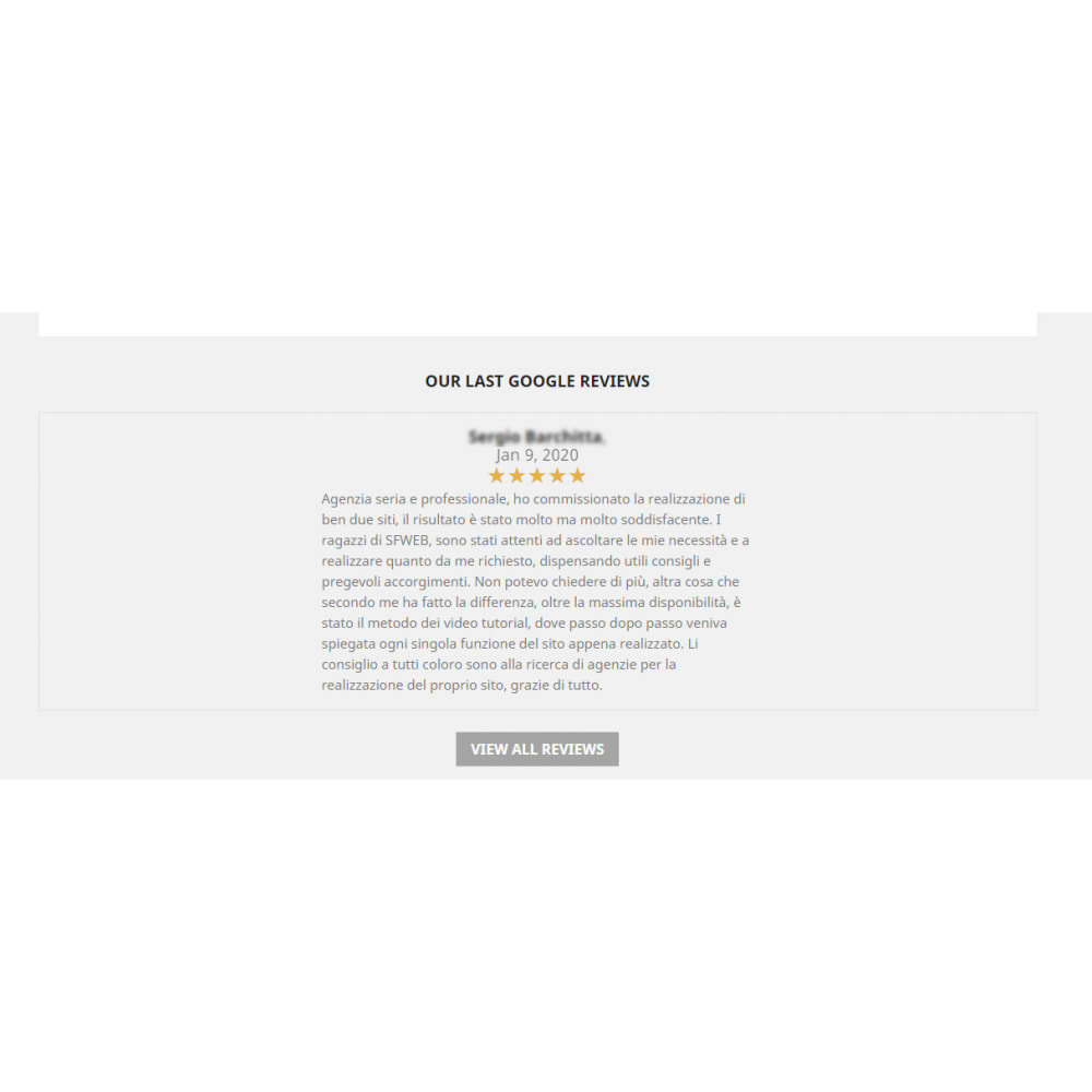 module - Customer Reviews - Embed Google My Business Reviews - 3