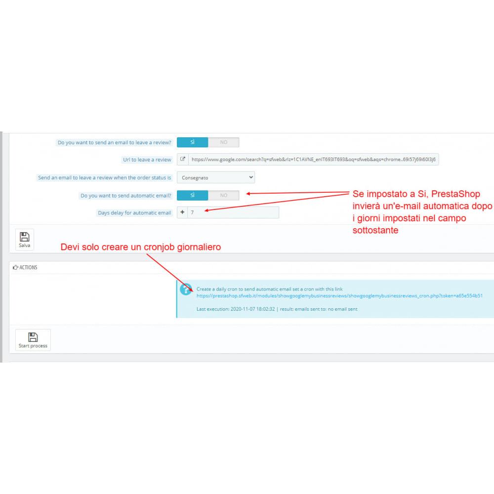 module - Recensioni clienti - Incorpora le recensioni di Google My Business - 5