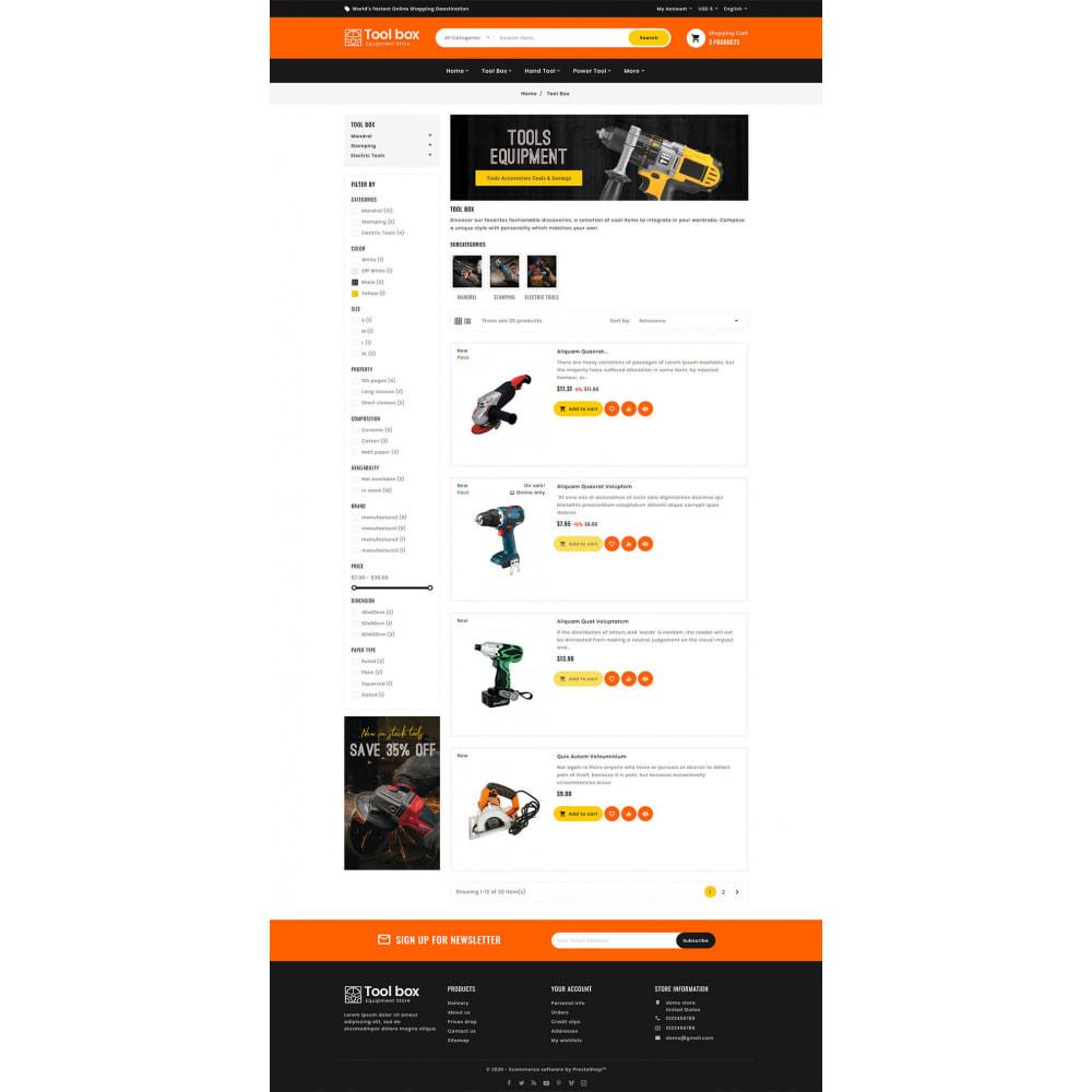 theme - Eletrônicos & High Tech - ToolBox - Drill Tools & Equipment - 9