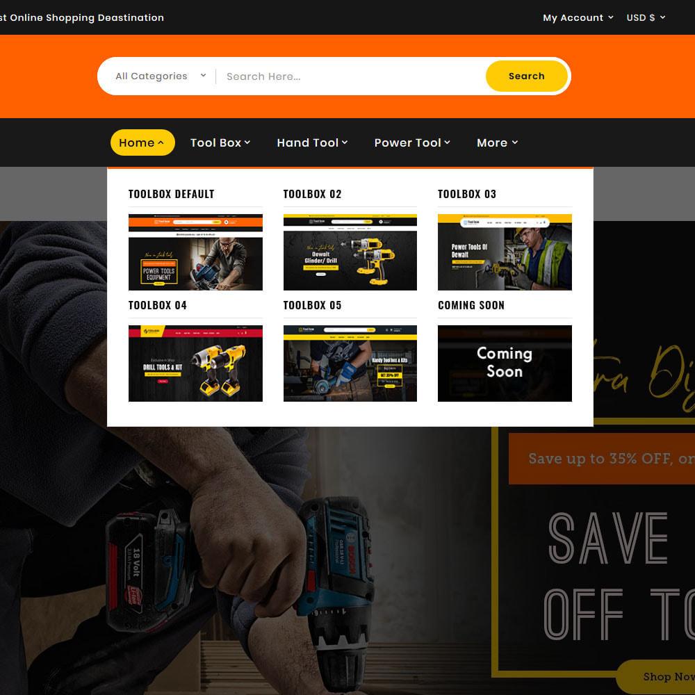 theme - Eletrônicos & High Tech - ToolBox - Drill Tools & Equipment - 14