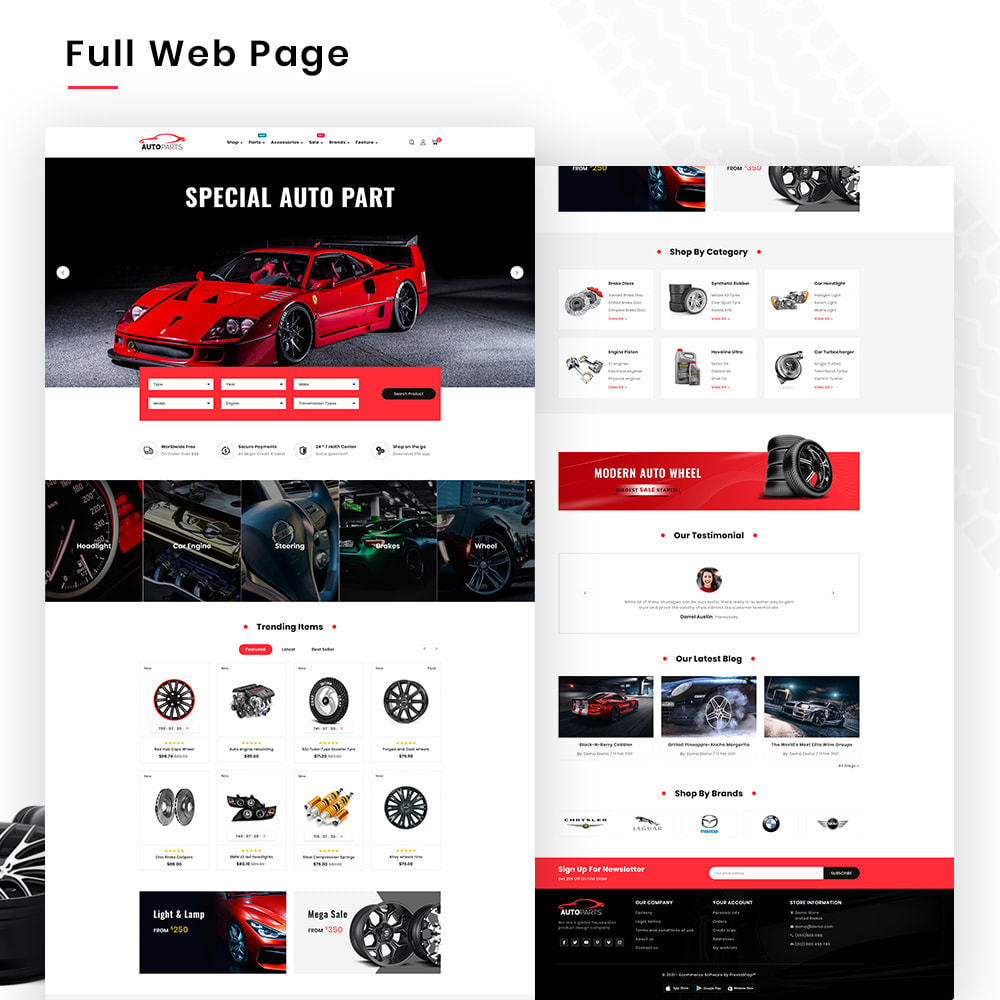 theme - Automotive & Cars - Autopart Mega–Cars Spare-AutoPart Super Store - 2