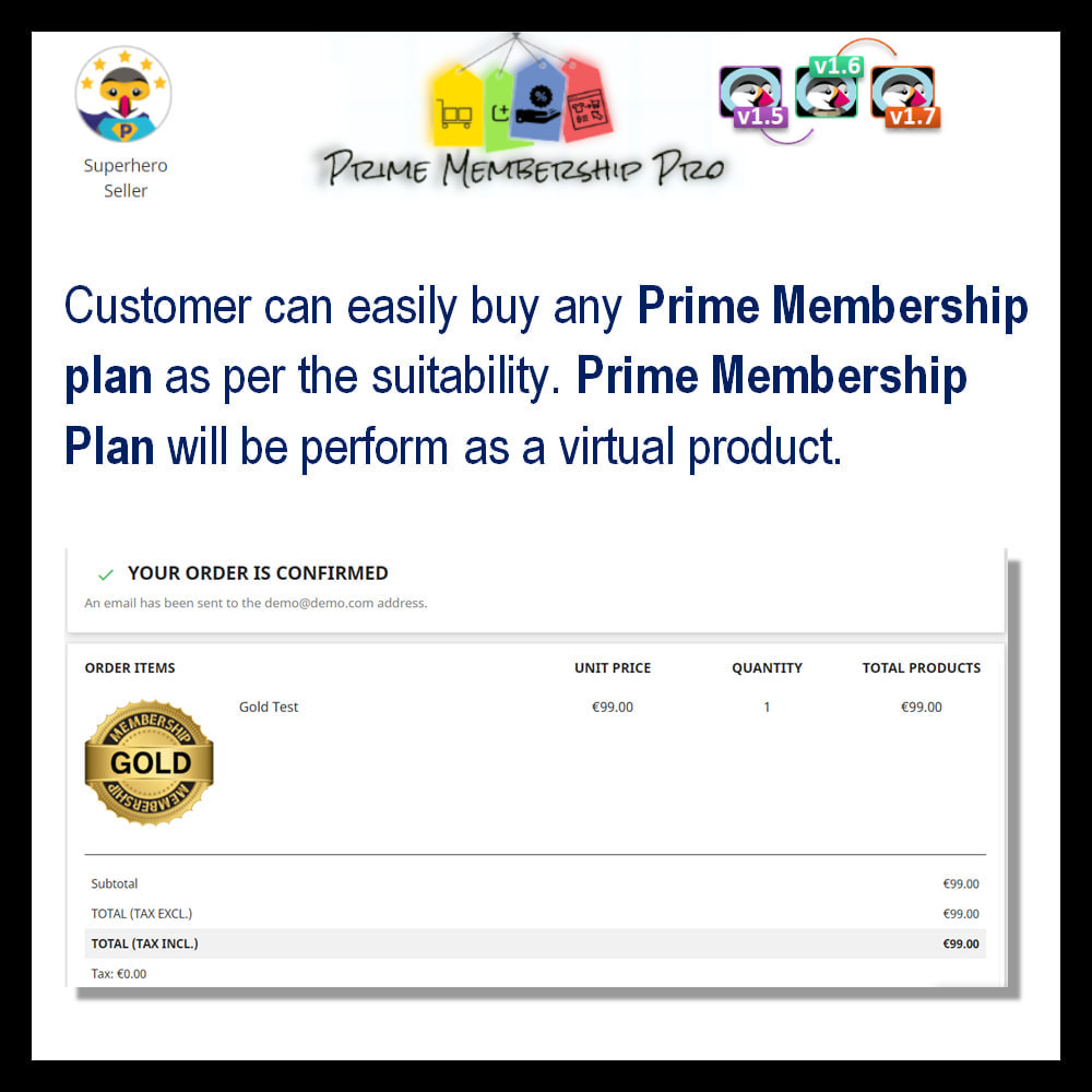 module - Recurring payment (subscription) - Prime Membership Pro - 14