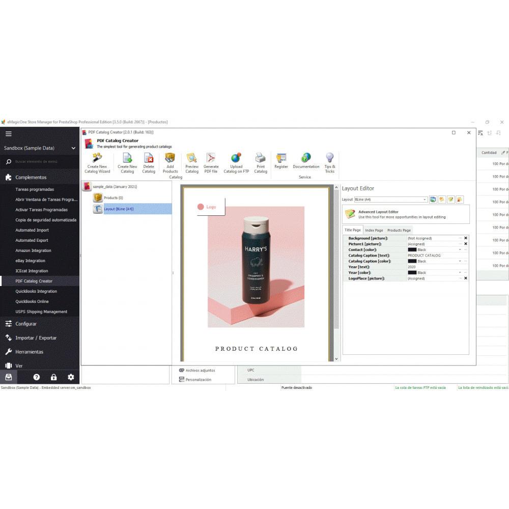 module - Integración con CRM, ERP... - Store Manager para PrestaShop - 15